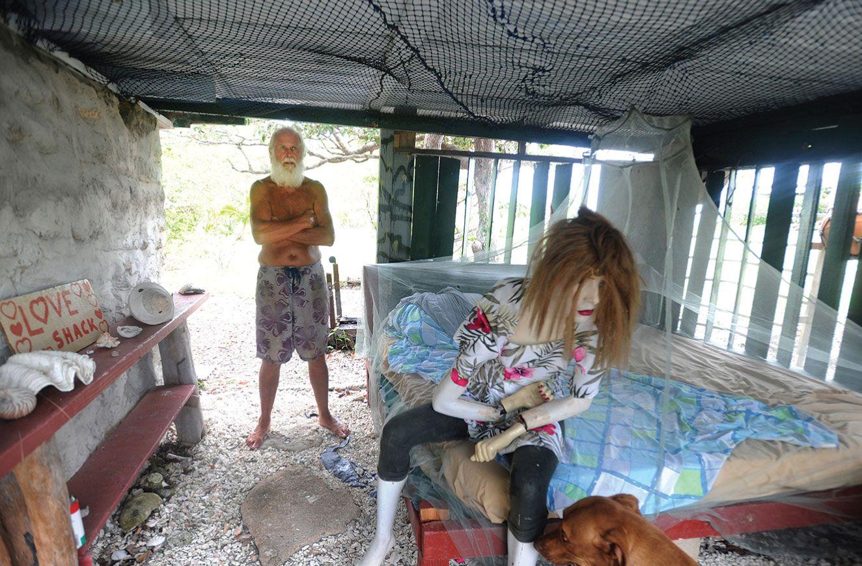 David Glasheen cuenta la experiencia de vivir solo en una isla desierta |  Elena Sevilla